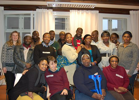 Change Agents and partner organisations during the 3rd Training at Plan International, Hamburg, Germany