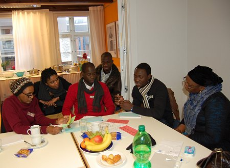 Change Agents during the 3rd Training at Plan International, Hamburg, Germany