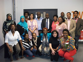 Training Participants and CHANGE Agents of Forward UK. Photo: © Forward UK.