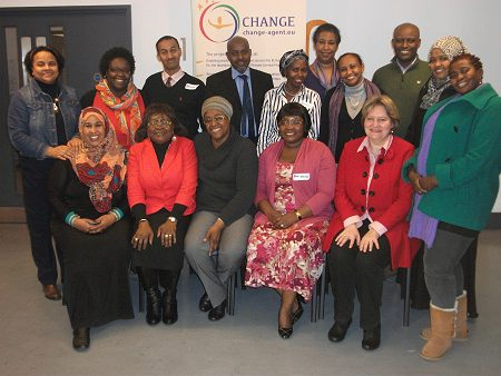 Partners and change agents at the FORWARD training session on 7th of December in London UK