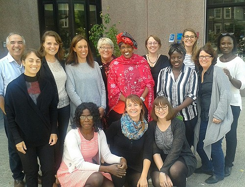 Participants of the 2. Coordination Meeting in Amsterdam. Photo: © TERRE DES FEMMES